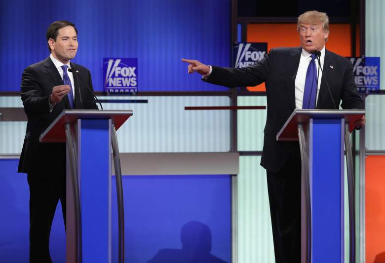 Marco Rubio and Donald Trump, Florida GOP primary, where, when, date, polling hours