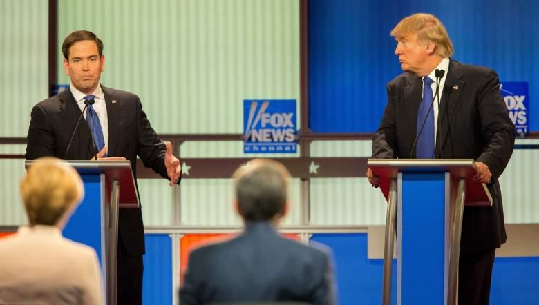 Marco Rubio and Donald Trump, florida gop republican primary, when, where, info, democratic