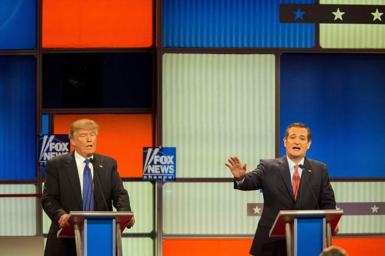 Donald Trump debate, Ted Cruz debate, Republican debate