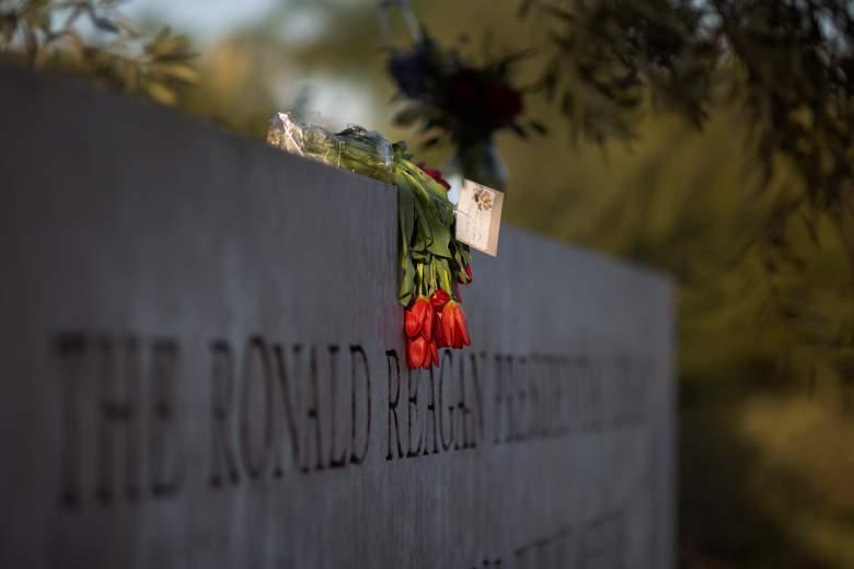 nancy reagan memorial
