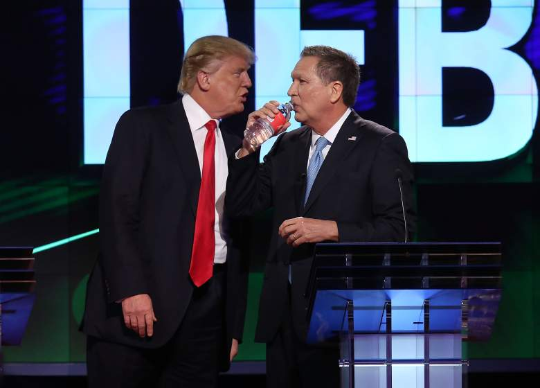 John Kasich and Donald Trump, Ohio GOP Republican polls, polling numbers, current, latest