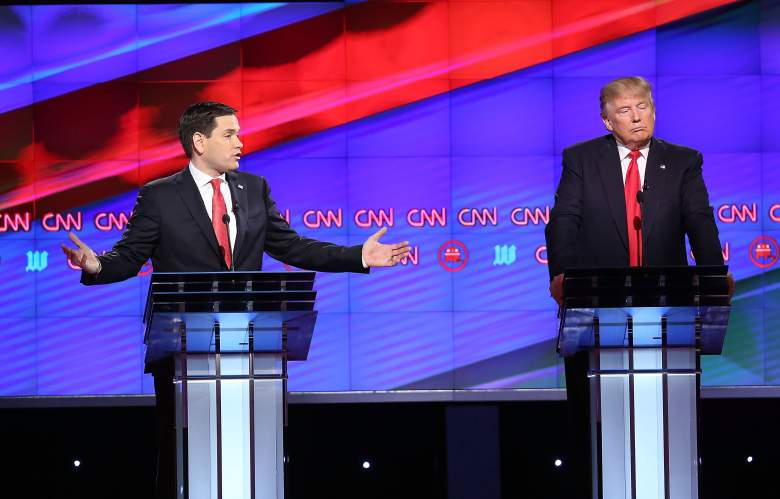 Marco Rubio, Donald Trump, Florida GOP Republican polls, polling numbers, early