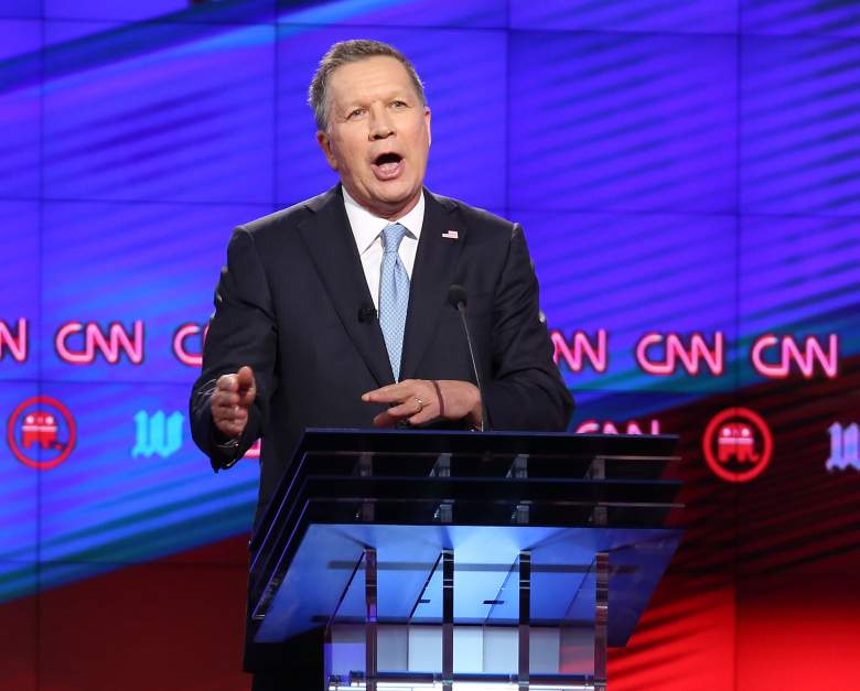 John Kasich, Ohio, primary, latest, current, polling numbers, where, when