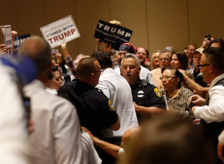 Corey Lewandowski Trump, Trump rally violence, Donald Trump rally