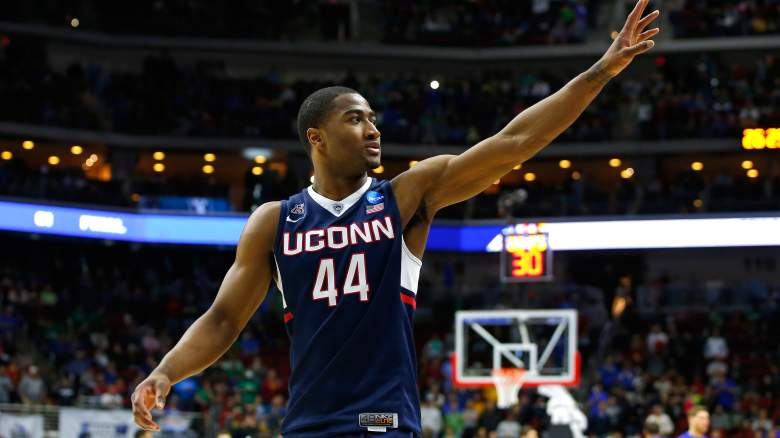 So far, so good for Rodney Purvis and UConn, but things get a bit tougher in the second round. (Getty)