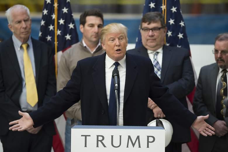 Donald Trump, Wisconsin GOP Democratic Republican primary, date, day, when, where