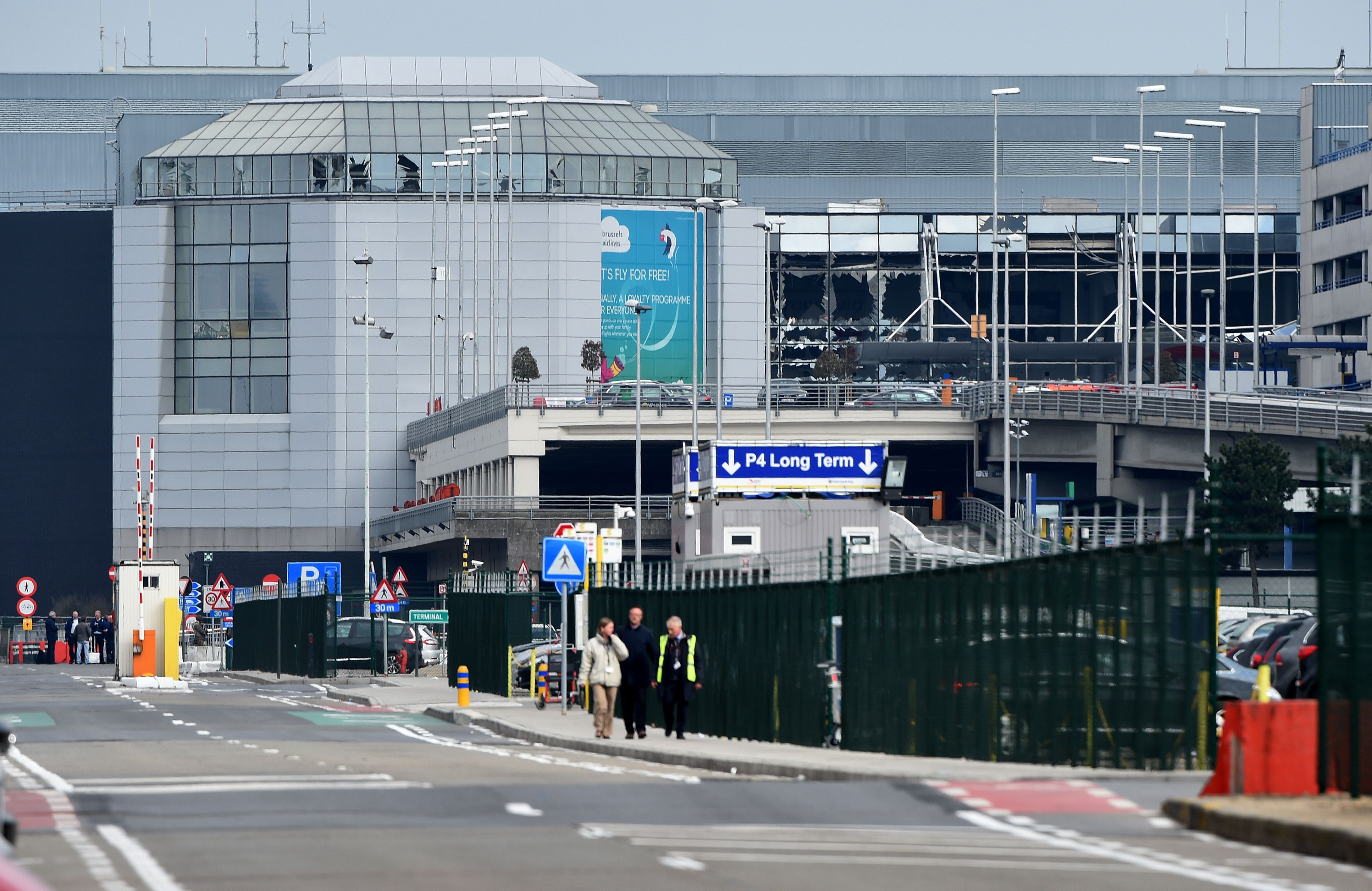 Brussels terror attack airport