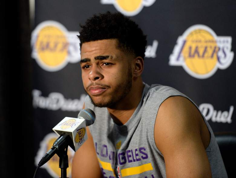 d'angelo russell, d'angelo russell nick young, d'angelo russell los angeles lakers