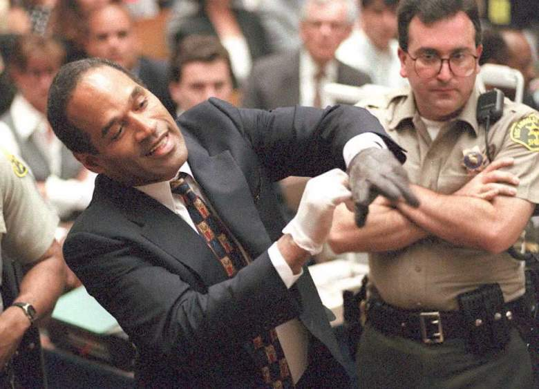OJ Simpson, OJ Simpson Show, OJ Simpson Trying On Gloves, OJ Simpson Black Gloves, OJ Simpson Trial Video, OJ Simpson Gloves Video