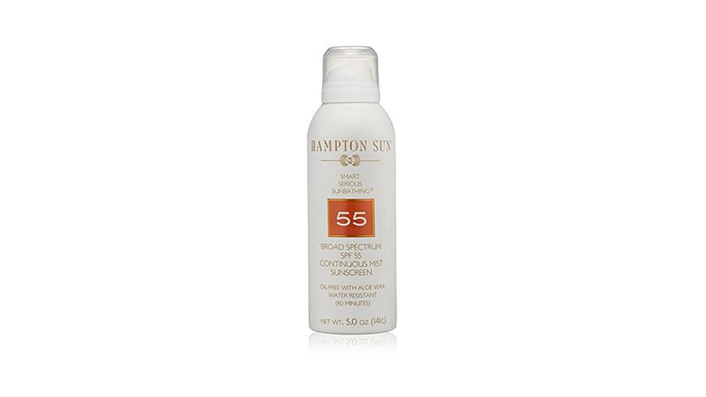Hampton Sun SPF 55 mist sunscreen