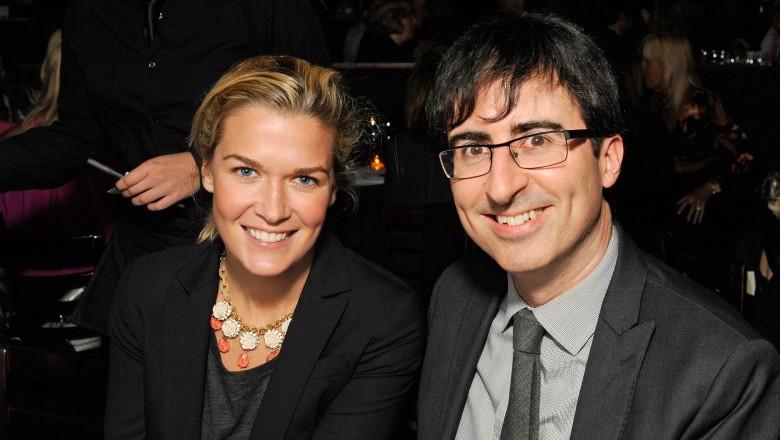 Kate Norley, John Oliver Wife, Is John Oliver Married, John Oliver family