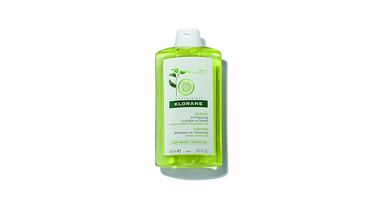 Klorane shampoo for oily hair with citrus pulp