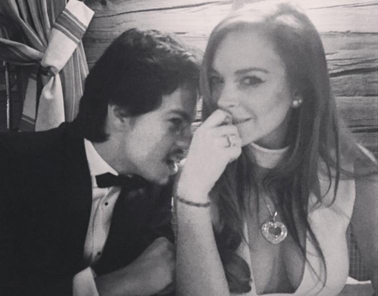 Lindsay Lohan and Egor Tarabasov, Lindsay Lohan boyfriend, Lindsay Lohan Instagram