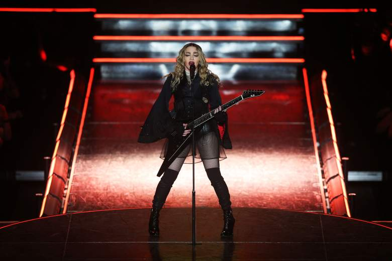 Madonna performs at the Rebel Heart Tour in Australia on March 12, 2016. (Getty)
