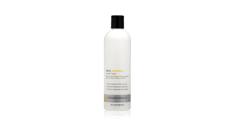 menscience daily shampoo with hair growth support