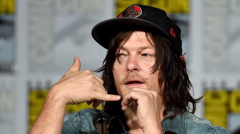 Norman Reedus on Walking Dead, Daryl on Walking Dead, Norman Reedus Son