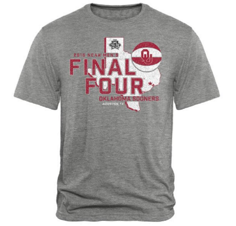 oklahoma sooners final 4 2016 gear shirts