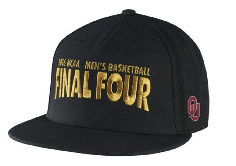 oklahoma final four 2016 hats