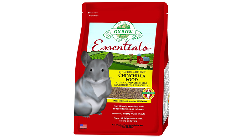 Image of oxbow deluxe chinchilla food