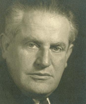Samuel Rosenman, Lynn Rosenman Merrick's grandfather. (The Franklin and Eleanor Roosevelt Institute)