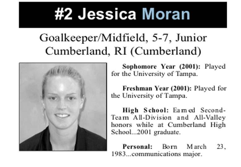 Jessica Moran Rhode Island College