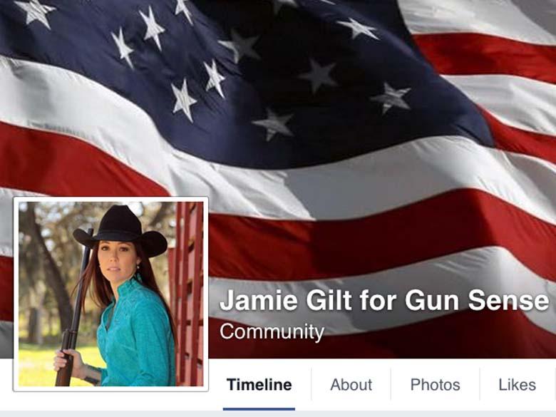 Jamie Gilt Facebook page