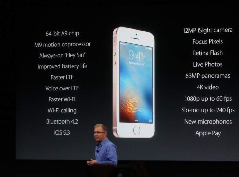 apple se camera