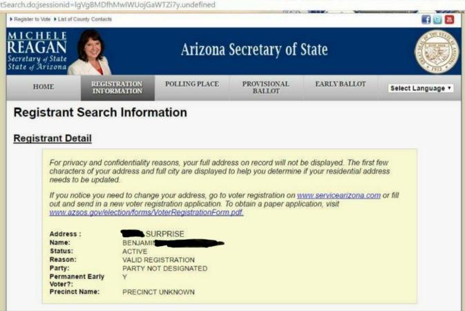 arizona voter fraud