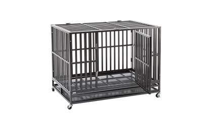 silverylake dog crate