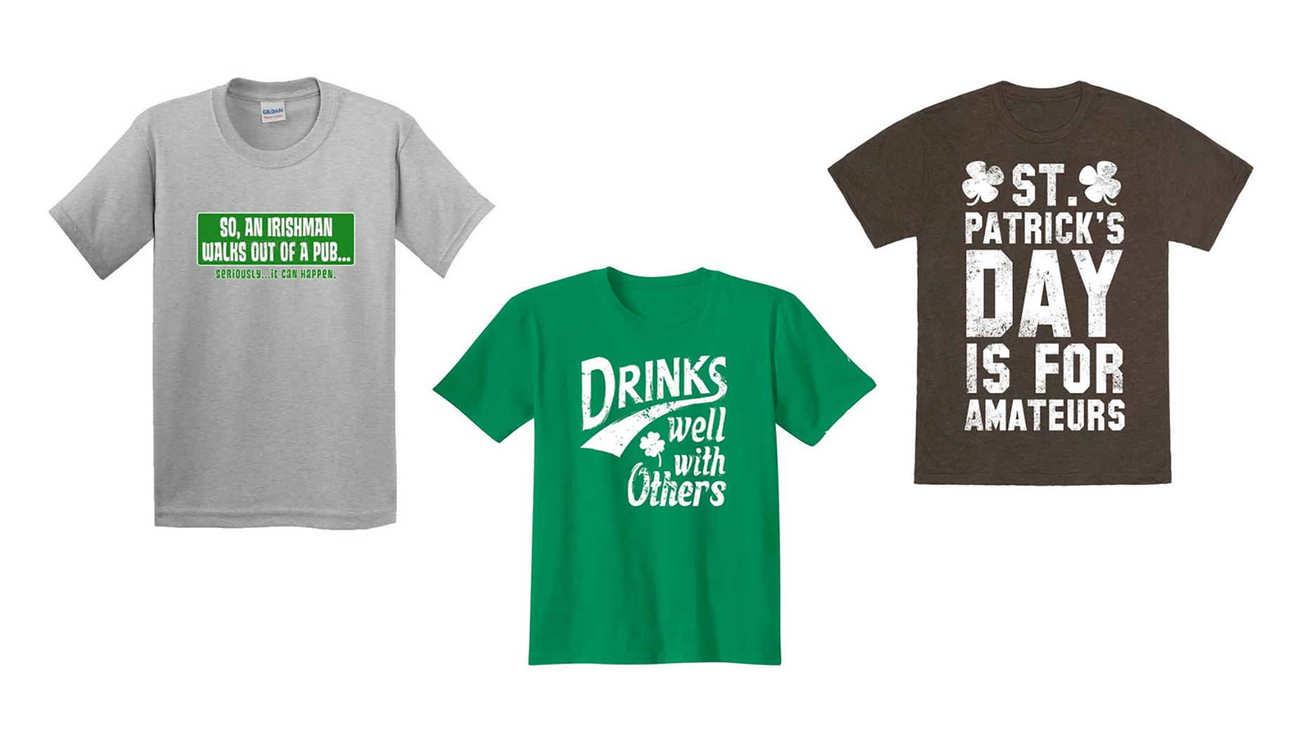 funny st patricks day t-shirt proud to be awesome funny green st paddys day tee