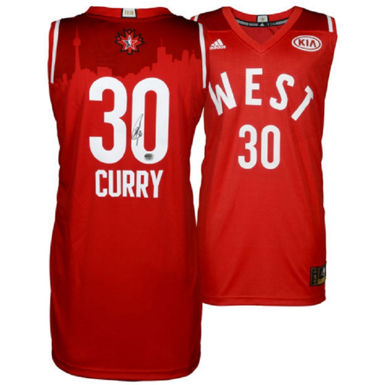 steph curry warriors gear signed jerseys