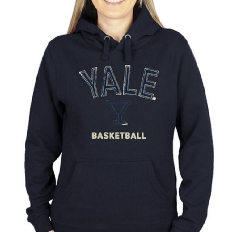 yale bulldogs basketball gear ivy league champions hoodies