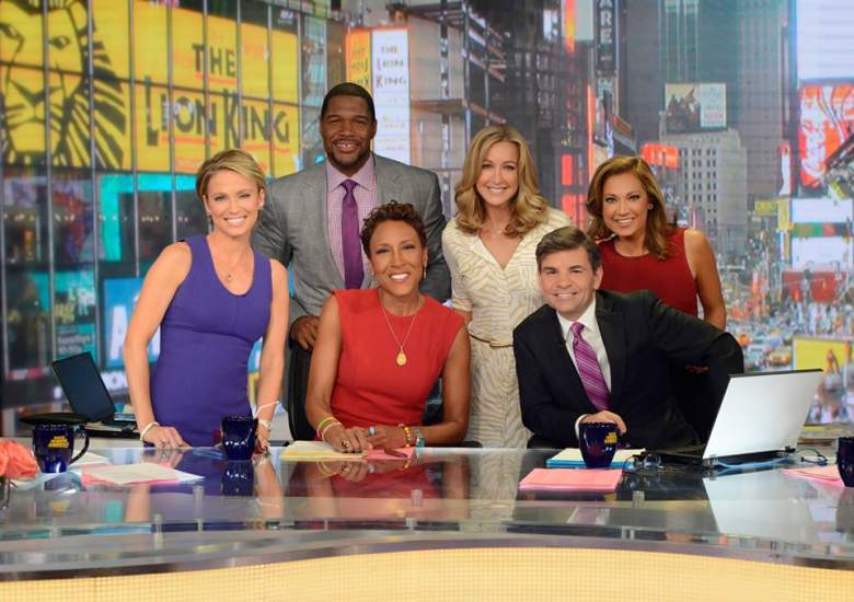 michael strahan good morning america, michael strahan gma
