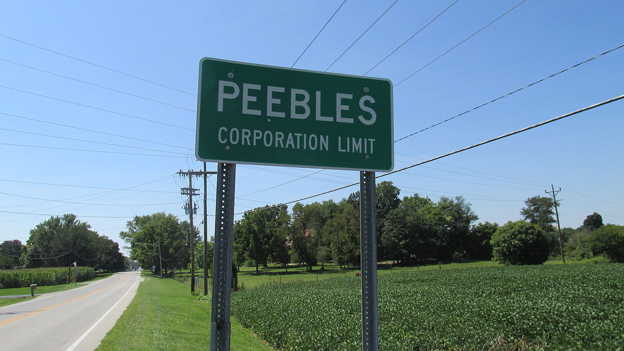 Peebles Ohio Wikipedia Page