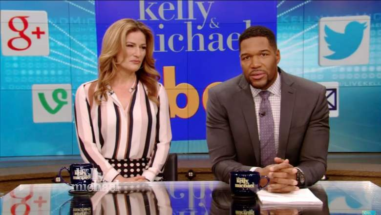 ana gasteyer on live with kelly and michael, kelly ripa and michael strahan