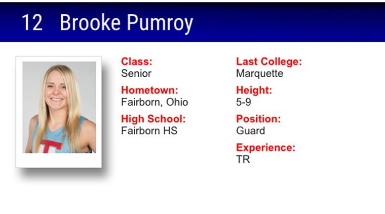 Brooke Pumroy Louisiana Tech, Brooke Pumroy bio, Brooke Pumroy and Tyler Summitt