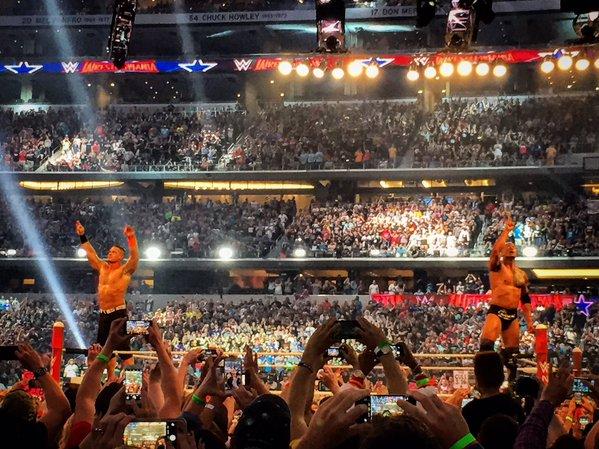 John Cena, The Rock, John Cena return