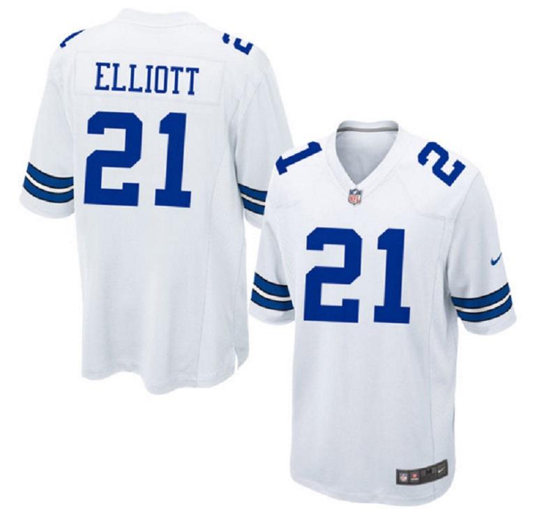 ezekiel elliott cowboys jersey nfl draft pick