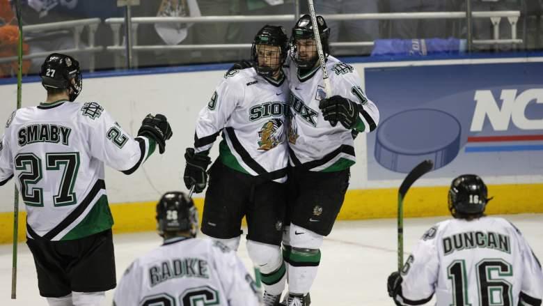 North Dakota hockey, North Dakota championships, college hockey