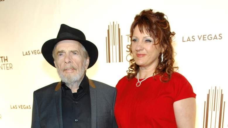 Merle Haggard and wife Theresa Ann Lane