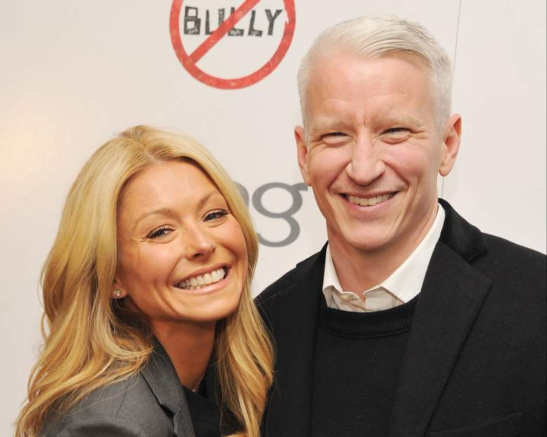 kelly ripa and anderson cooper, anderson cooper live with kelly