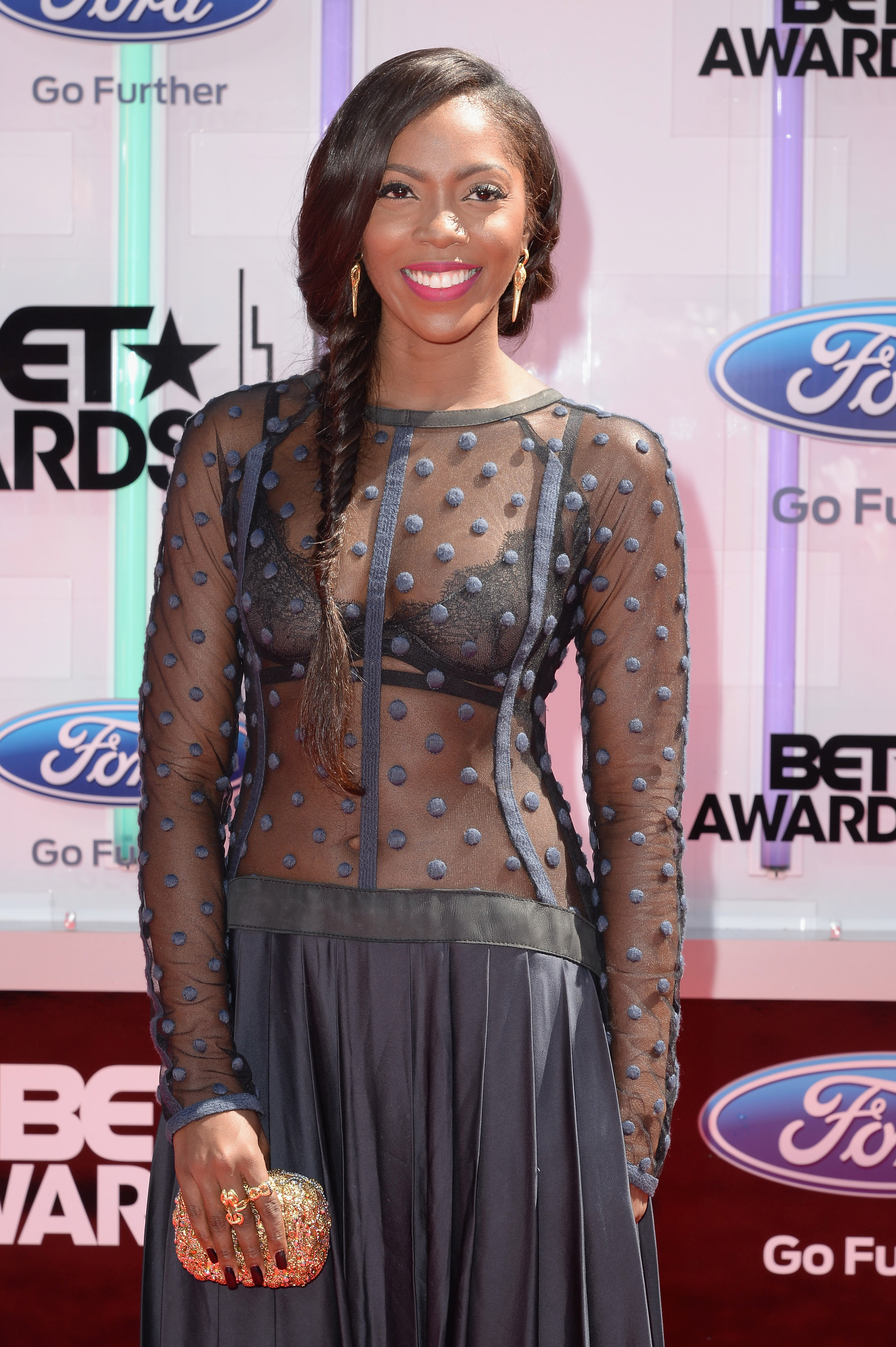 Singer-songwriter Tiwa Savage attends the BET AWARDS '14 at Nokia Theatre L.A. LIVE on June 29, 2014 in Los Angeles, California.  (Getty)
