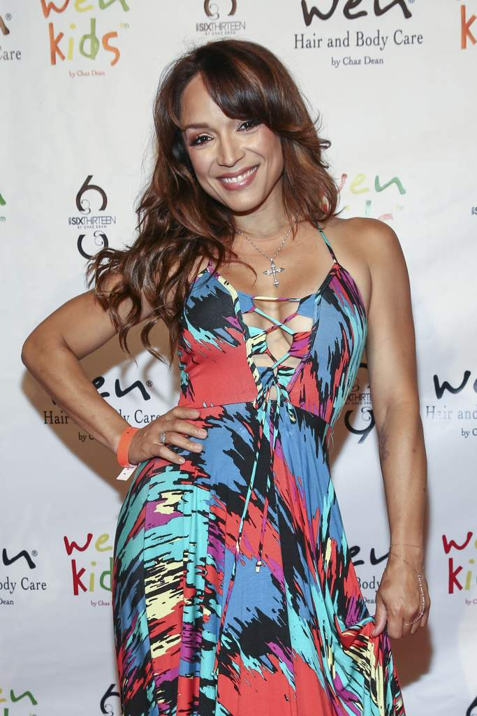 LOS ANGELES, CA - AUGUST 02: Actress Mayte Garcia arrives at Chaz Dean's Summer Party Benefiting Love Is Louder on August 2, 2014 in Los Angeles, California. (Photo by Rich Polk/Getty Images for Love is Louder)