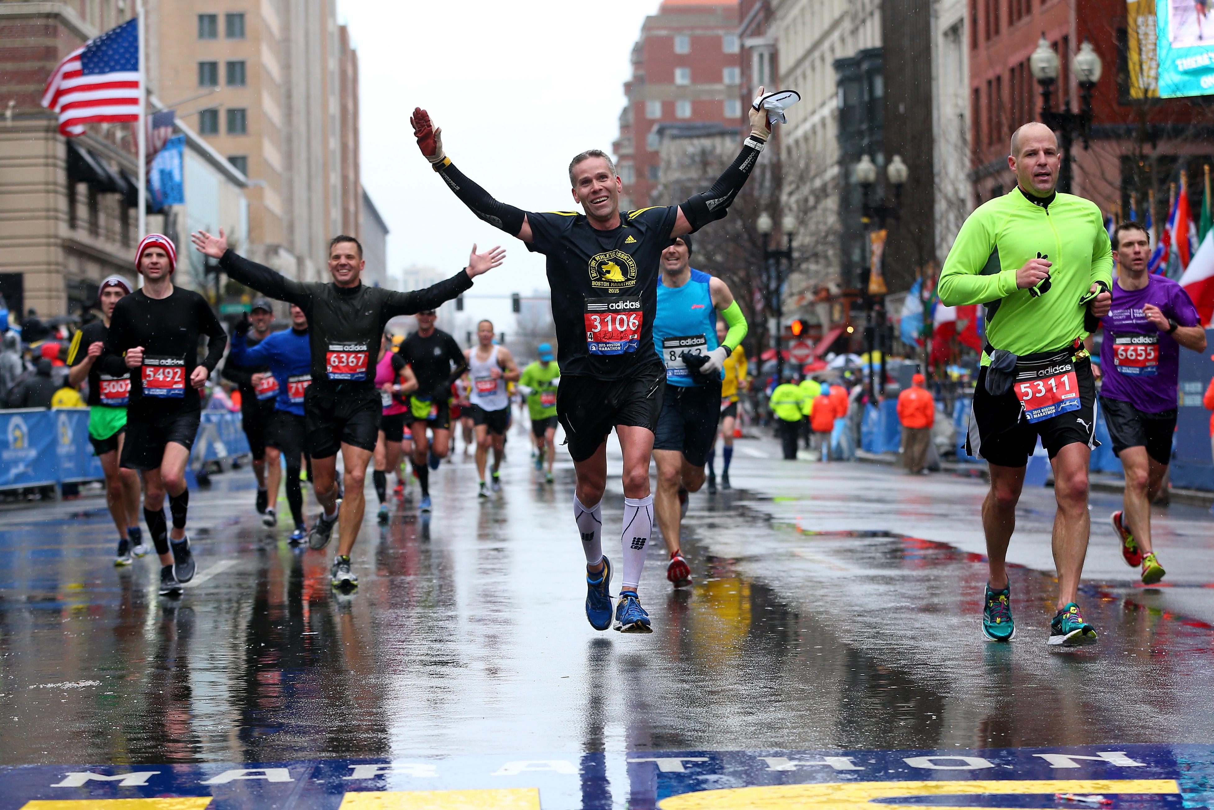 boston marathon course, boston marathon map, boston marathon route