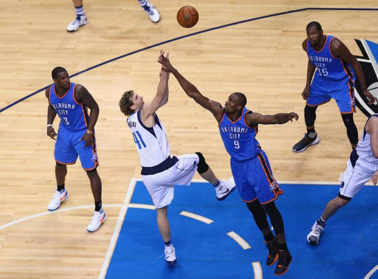Mavs and Thunder, series, date, day, when, where
