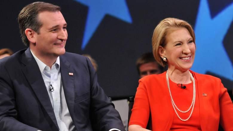 Carly Fiorina Ted Cruz, Carly Fiorina VP, Ted Cruz Carly Fiorina