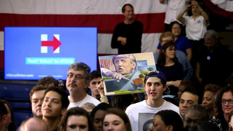 Trump vs. Clinton, Hillary Clinton polls, Donald Trump polls