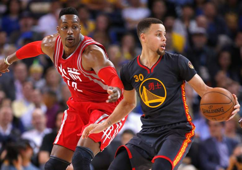 Rockets vs. Warriors, nba playoff series, schedule, tv, time, day