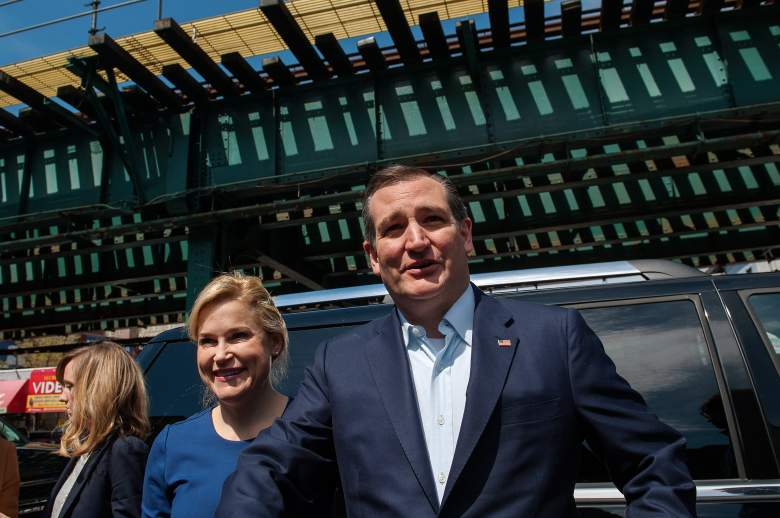 Ted and Heidi Cruz, Ted Cruz wife, New York GOP Republican polls, latest current polling numbers