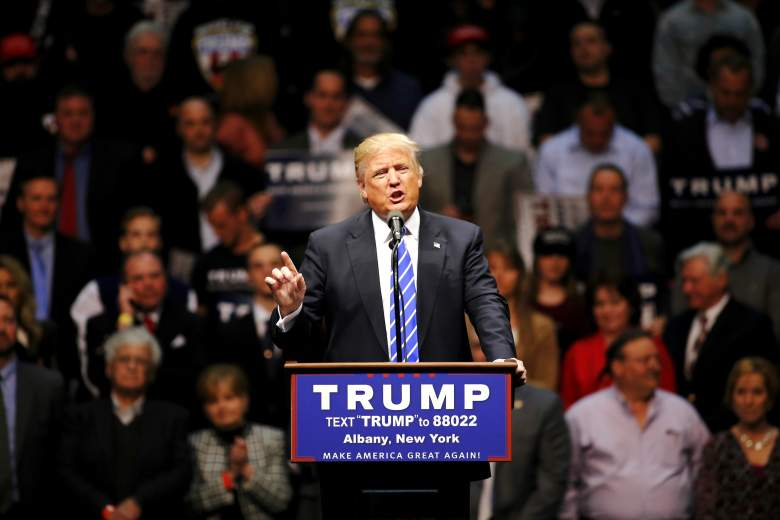 Donald Trump, Pennsylvania GOP Republican polls, early latest current polling numbers, Ted Cruz